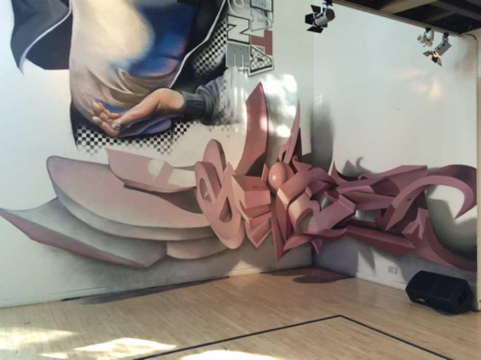 Anamorphic graffiti