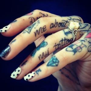 hand tattoos design for women