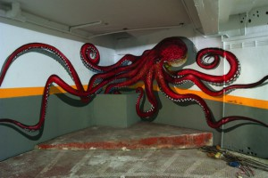 Anamorphic Mural Art work Private car Parking - Lisboa (3)-s