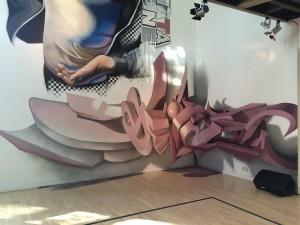 Anamorphic graffiti letters Breakin Convention - International Festival of Hip Hop (18)